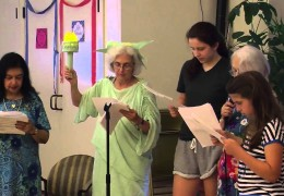 A Tribute with Lady Liberty