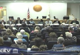 B Space Public Hearing