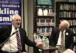 Barney Frank at the Brookline Booksmith