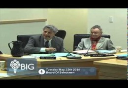 Board of Selectmen 5/13/14