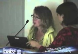 Board Of Selectmen Meeting 08/13/13