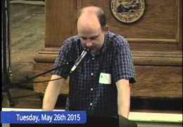Brookline Town Meeting 05/26/15