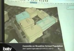 Committe on Brookline School Population and Capital Exploration (B-SPACE) 05/06/13