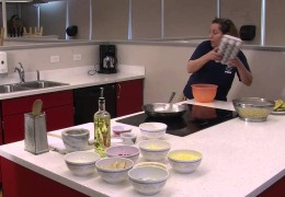 """Episode 1 """"Fritatta"""" on Hey Jude What's Cooking?"""