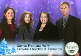 Holiday Shop Local PSA Brookline Chamber of Commerce