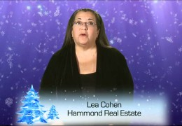 Holiday Shop Local PSA Hammond Real Estate