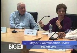 Warrant Review May 2015