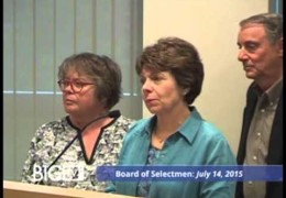 Board Of Selectmen 7/14/15