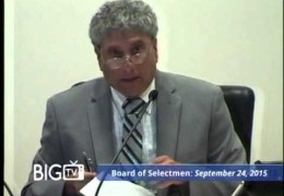 Board of Selectmen 9/24/15