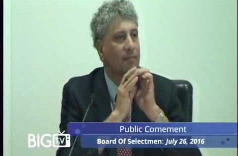 Board of Selectmen 7/26/16