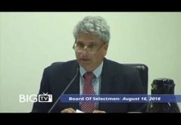 Board Of Selectmen 08/18/16