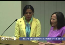 Board of Selectmen 10/18/16