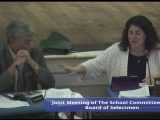 Joint Meeting of the Board of Selectmen and School Committee: 9th School Decision 10/13/16
