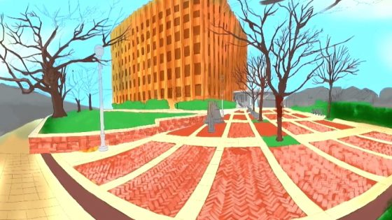 Brookline Town Hall 360° Sketch Video