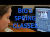 Spring 2017 class offerings at BIG