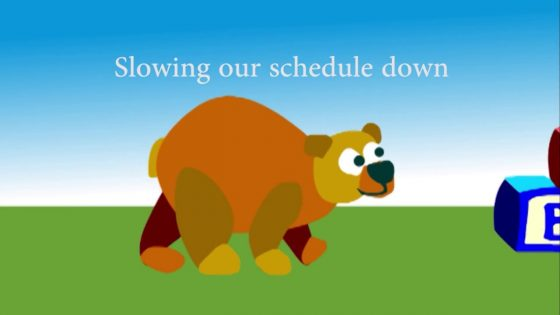 BEE Parenting: Slowing Down