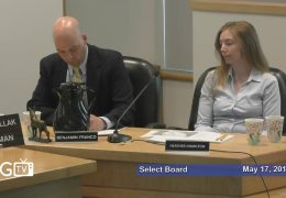 Joint Meeting of the Select Board, School Committee and Advisory Committee – May 17, 2018