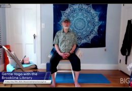 Gentle Chair Yoga with Keith Beasley – May 29, 2020