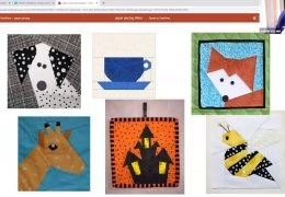 The Brookline Bees Quilting Club present – Paper Piecing