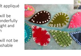 The Brookline Bees Quilting Club present: Applique