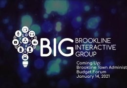 Brookline Town Administrator Budget Forum – January 14, 2021