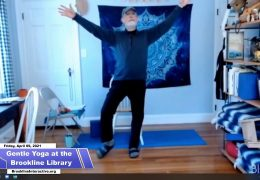 Gentle Yoga at the Public Library of Brookline – April 9th, 2021